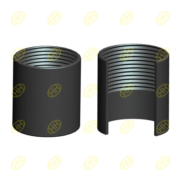 Half thread pipe coupling(pipe socket)