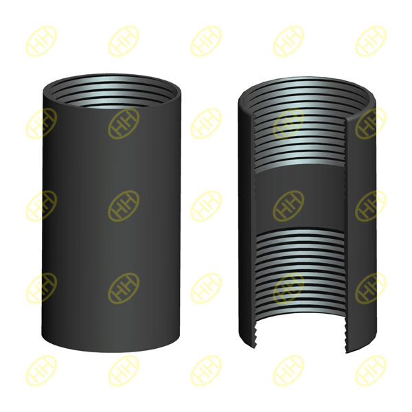 Full thread pipe coupling(pipe socket)