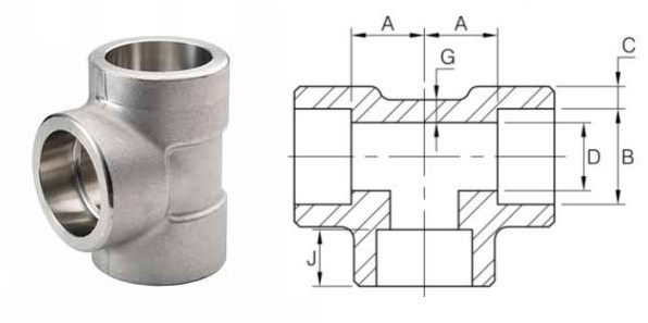 socket-weld-pipe-tee