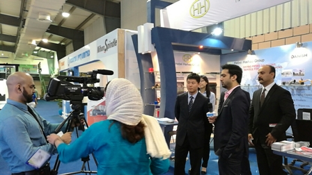 Pakistan-TV-station-interview-hebei-haihao-group