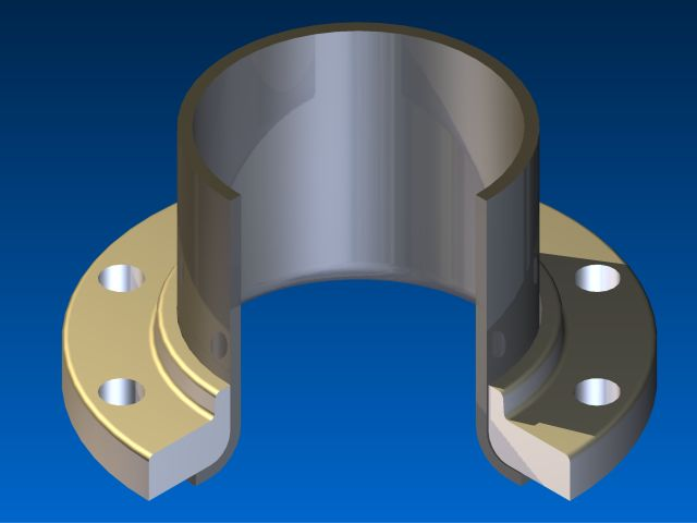 What is a lap joint flange(loose flange)? | Haihao Pipe