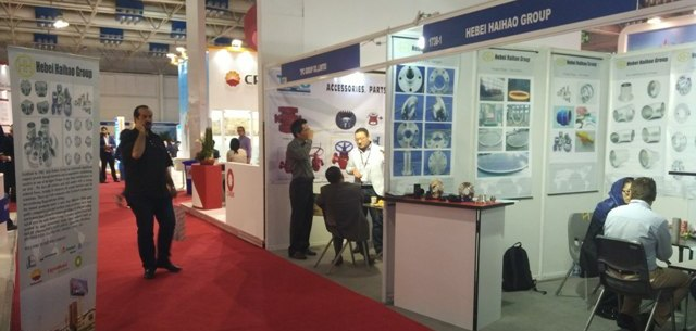 hebei haihao flange pipe fitting group in iran