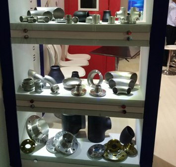pipe fittings flanges in iran exhibtion