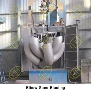 Elbow-Sand-Blasting
