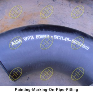 Painting-Marking-On-Pipe-Fitting