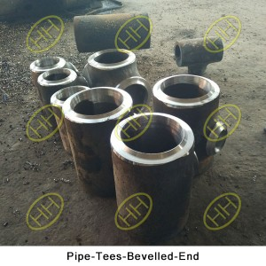 Pipe-Tees-Bevelled-End