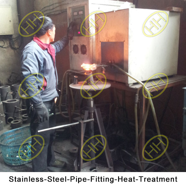 Pipe Fitting Heat Treatment Haihao Pipe Fitting Factory