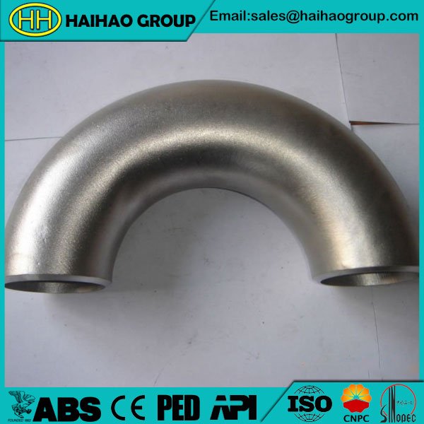 Sch5s EN A182 F304 180 Degree Elbow