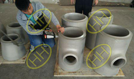 Chemical Composition Inspection For Stainless Steel Fittings