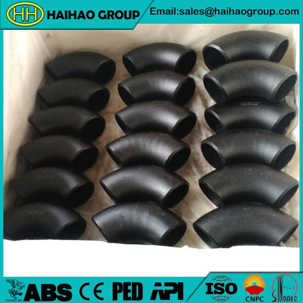 SCH40 ANSI B16.28 A234 WPB 12inch Elbow