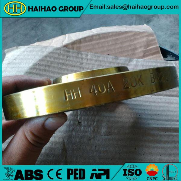 JIS B2220 Slip On Hubbed Flange