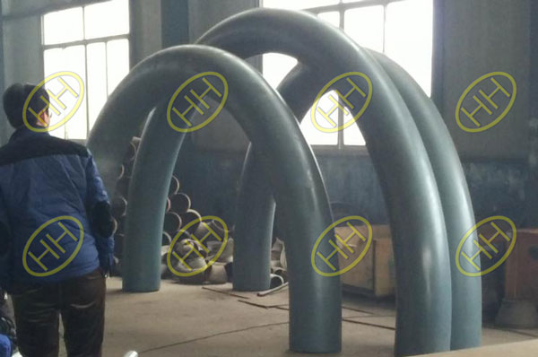Haihao Factory Produce 180 Degree Bends For Petro Pipeline