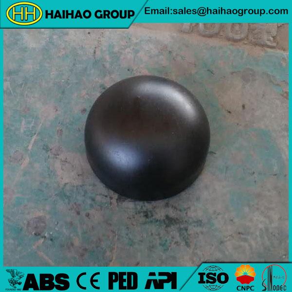 ASME B16.28 SCH40 3inch Carbon Steel Cap