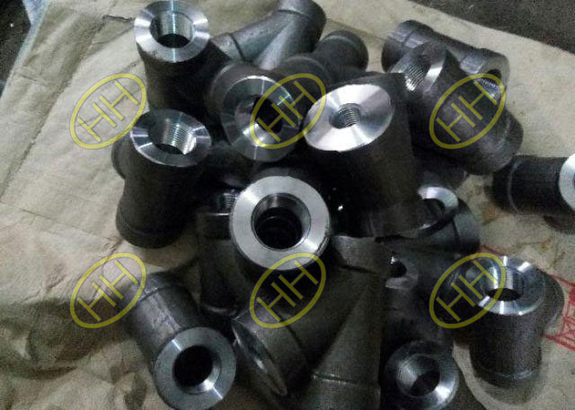 Manufacture process of high pressure tee
