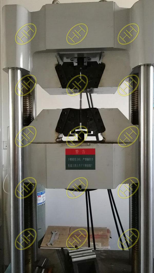 Mechanical properties test