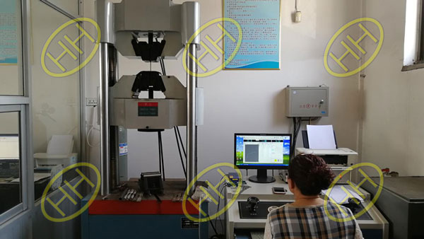Mechanical properties test by BV in Haihao Group