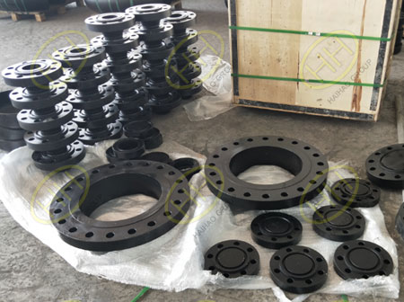 Haihao Group weld neck flange,blind flange,figure 8 blind flange products