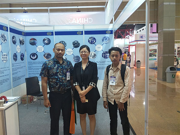 Haihao attended the 4th INDONESIA TUBE & PIPE EXPO 2018