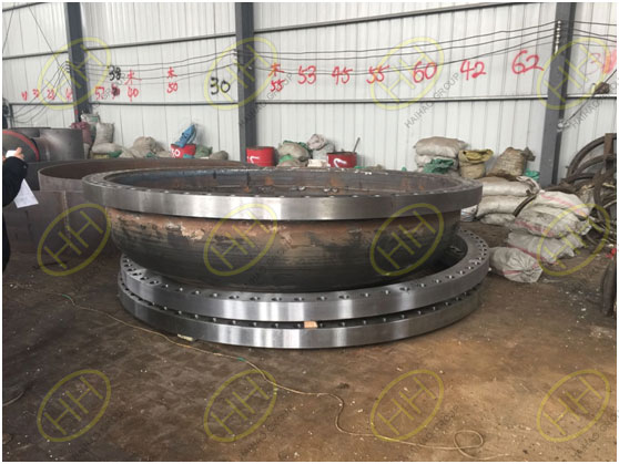 OD 3000mm above big size pipe fittings and flanges supply
