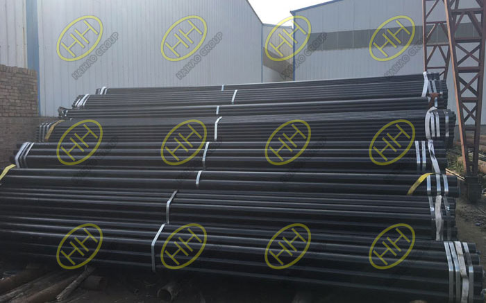 Carbon steel cold drawn steel pipes finished in Haihao Group