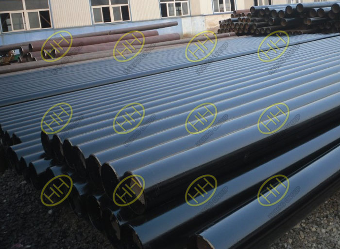 Carbon steel hot rolled steel pipes finished in Haihao Group