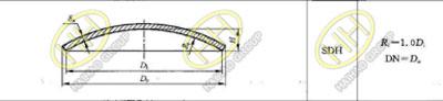 SDH type ellipsoidal head