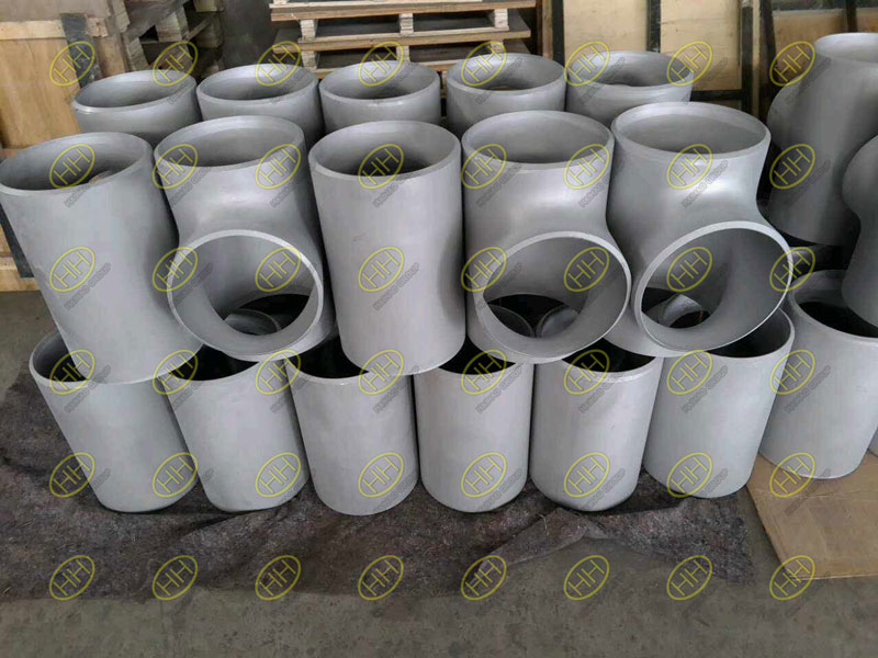 ASME B16.9 ASTM A403 WP304L equal tees