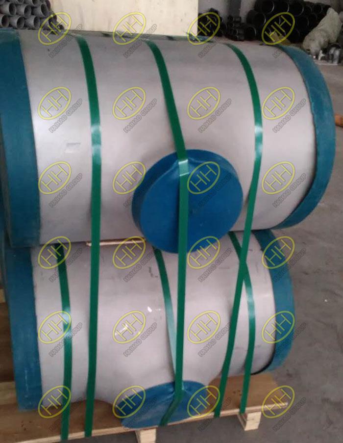 ASME B16.9 ASTM A403 WP304L reducing tees