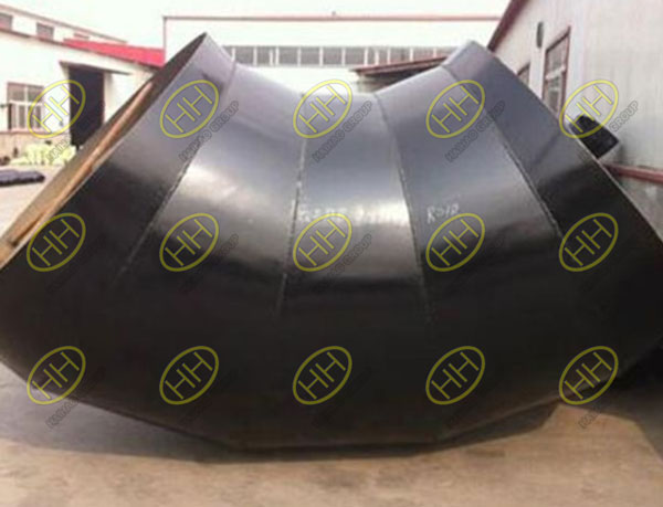 Mitered elbowsunder AWWA C208 Use 5 pieces to weld