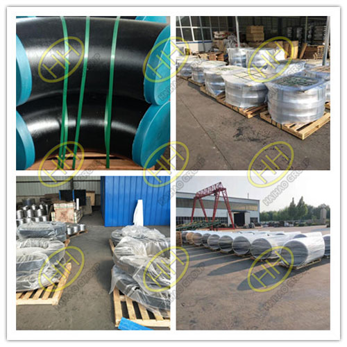 Pipe fittings and flanges packing