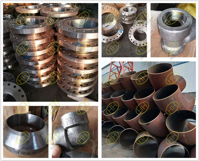 Piping products flanges,butt welding pipe fittings and forged fittings