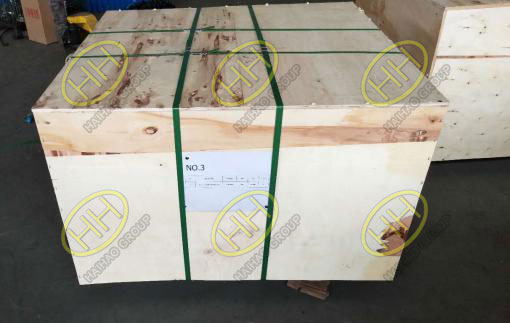 Plywood cases packing flanges