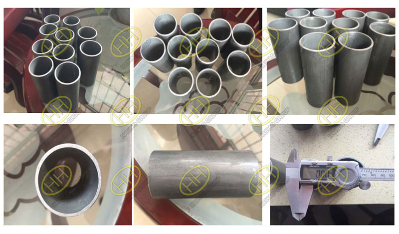 Precision tube order from GPC