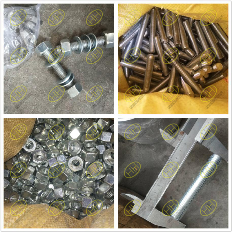Zinc plating of bolts and nuts