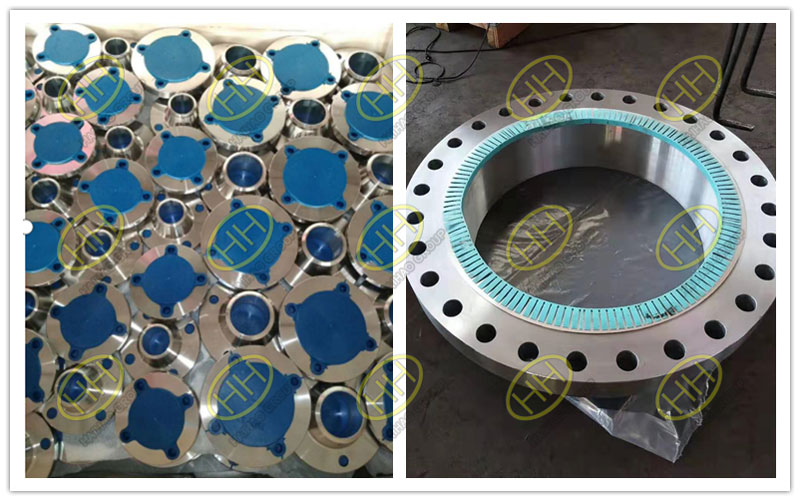 Flange sealing face protector