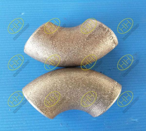 Carbon steel 90 degree elbow 3D EN10253