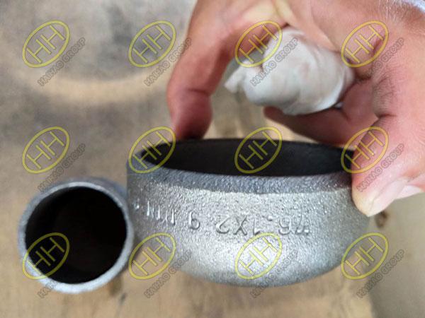 Carbon steel cap EN10253