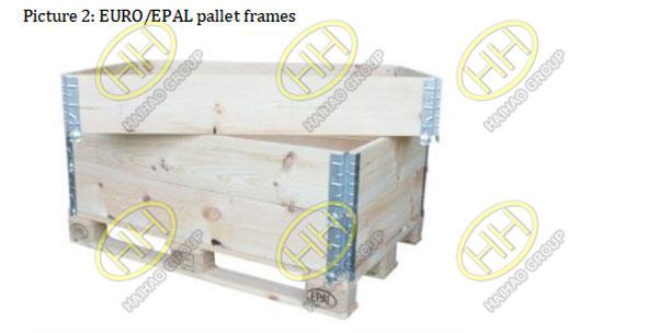 EURO EPAL pallet frames