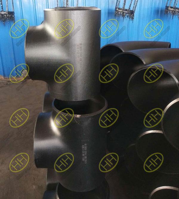 Hydraulic bulging process of tee