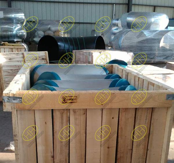 Packaged EN10253 4 Type-A 1.4541 Elbows