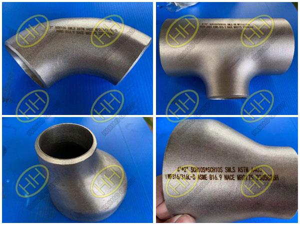 316 316L pipe fittings