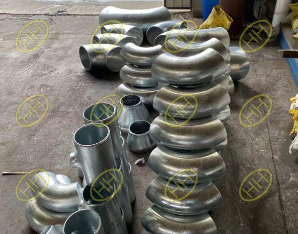 Hot  dip galvanized pipe fittings