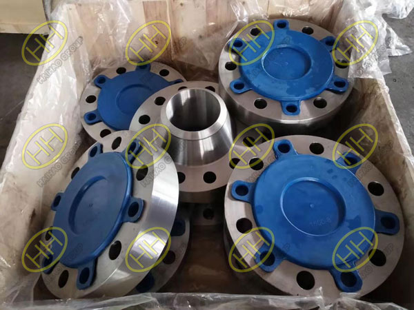 A694 F65 Long Weld Neck Flanges RTJ