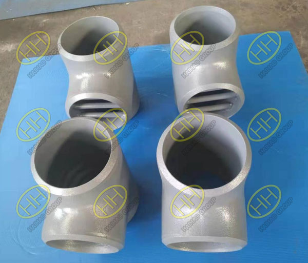 Barred Tees SCH80 Bevel Ends ASTM A860 WPHY65