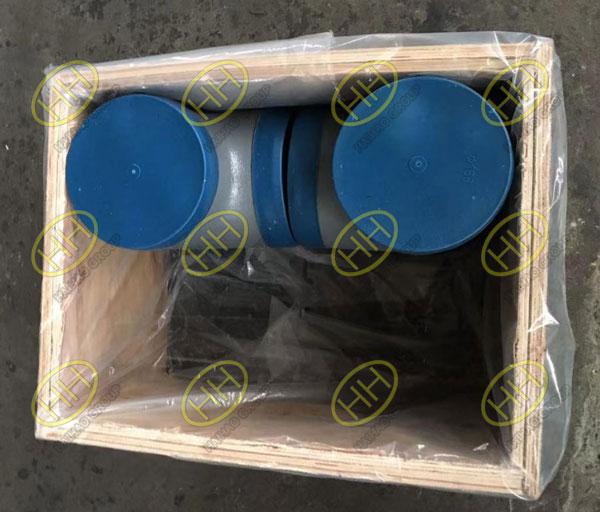 Plastic blue protective cap